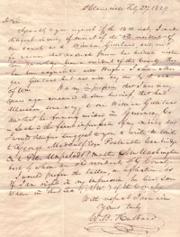 Hubbard letter